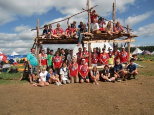 The Sweden World Jamboree. Kudos if you can find me.